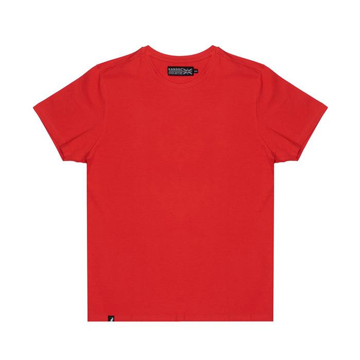 캉골 남성 코튼 스트레치 반팔티 K900L Fiery Red