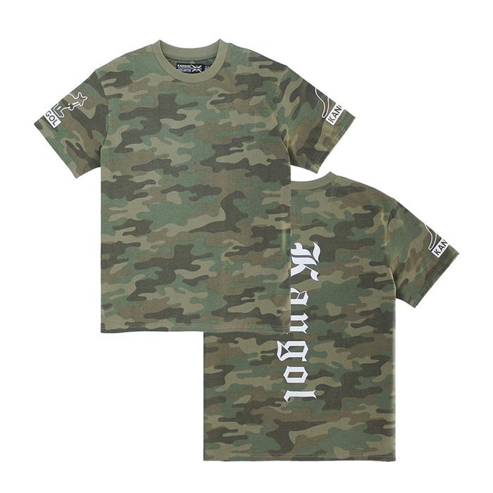 캉골 고딕 반팔티 K90210 Camouflage